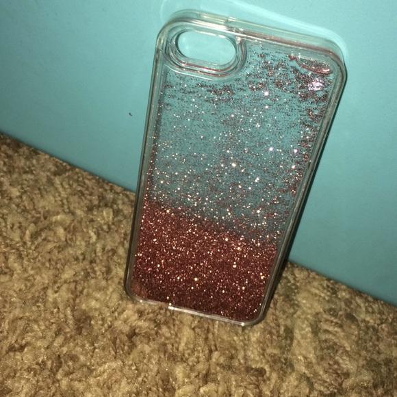 on sale 93454 4d8e2 iPhone 5s/5c Glitter case